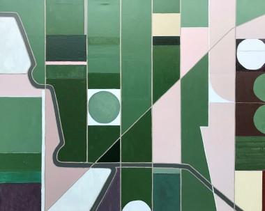 "SAN FERNANDO 1, oil on canvas, 48"" x 60"""