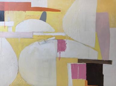 "STILL LIFE, oil on canvas, 36"" x 48"""